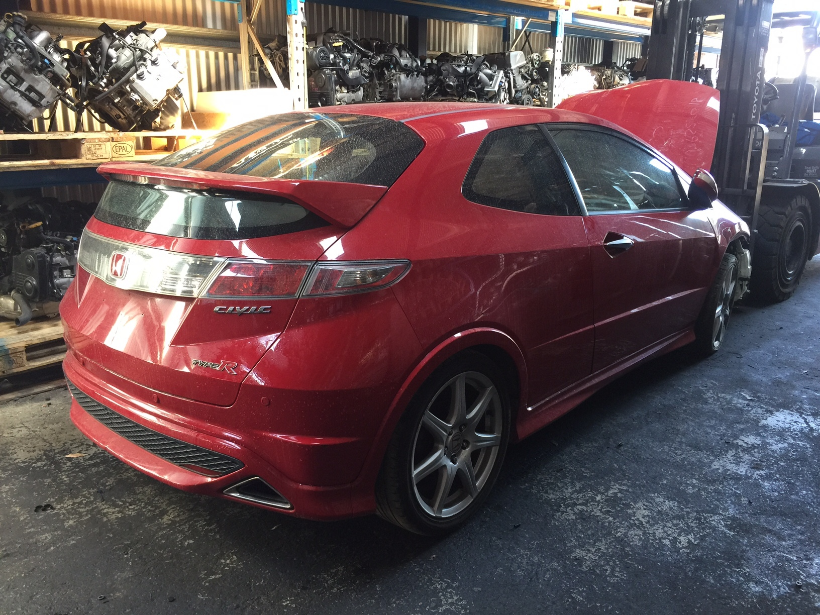 Honda Civic FN2 2009 Type R Red K20 Spare Parts