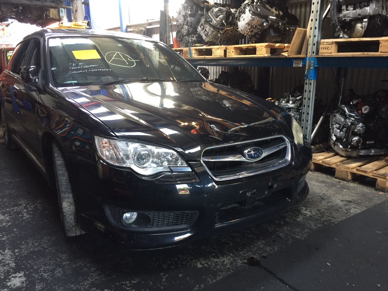 Subaru Wrecking Liberty Spec B Gen4 2008 H6 EZ30 Wagon Spare Part