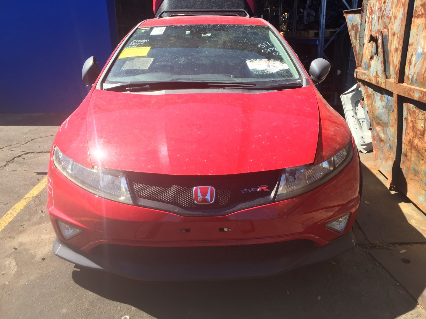 Honda Wrecking CIVIC FN2 Red Type R Hatch K20 Gearbox Parts