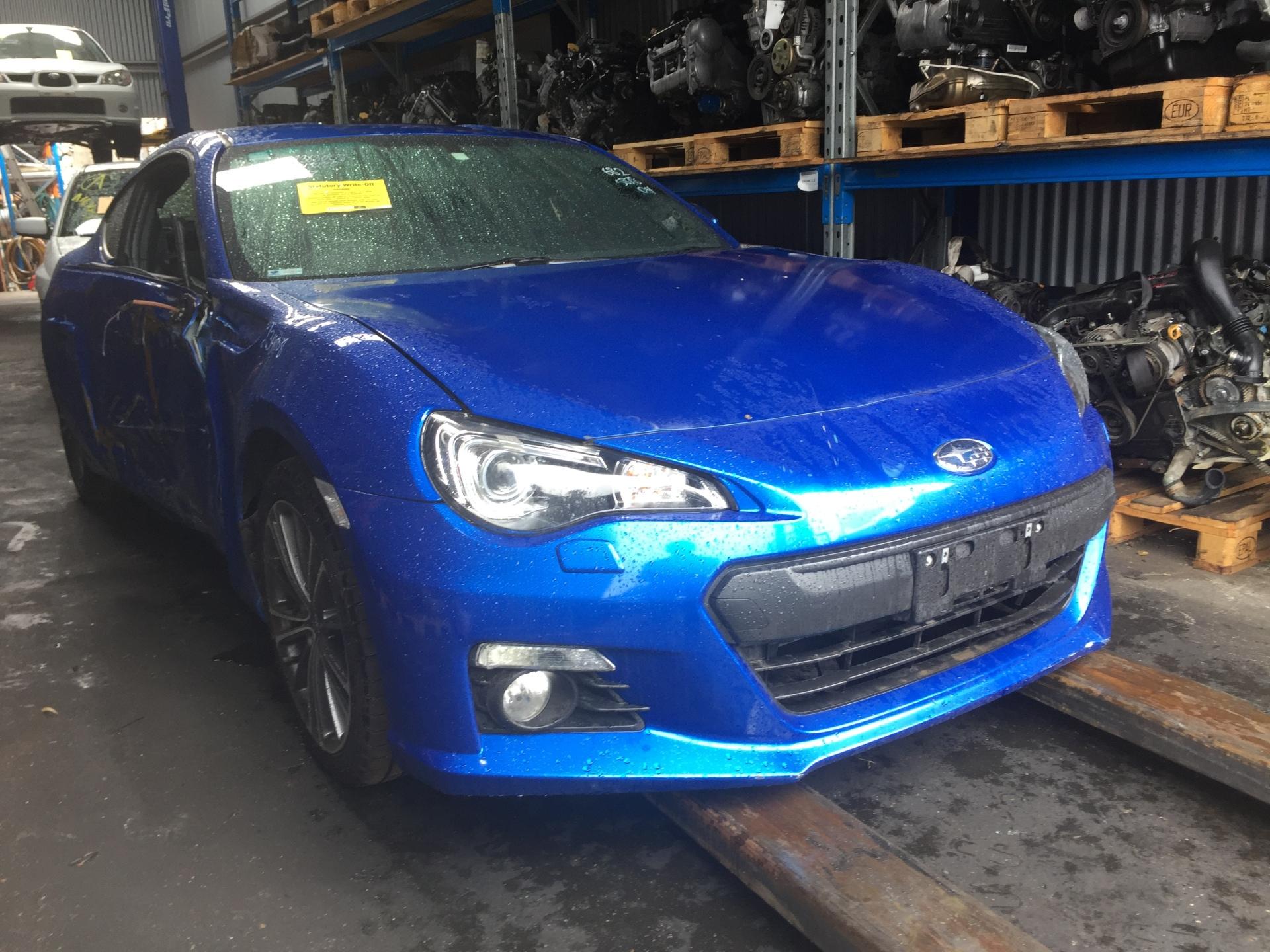Subaru Wrecking BRZ Coupe Blue 2014 Spare Parts