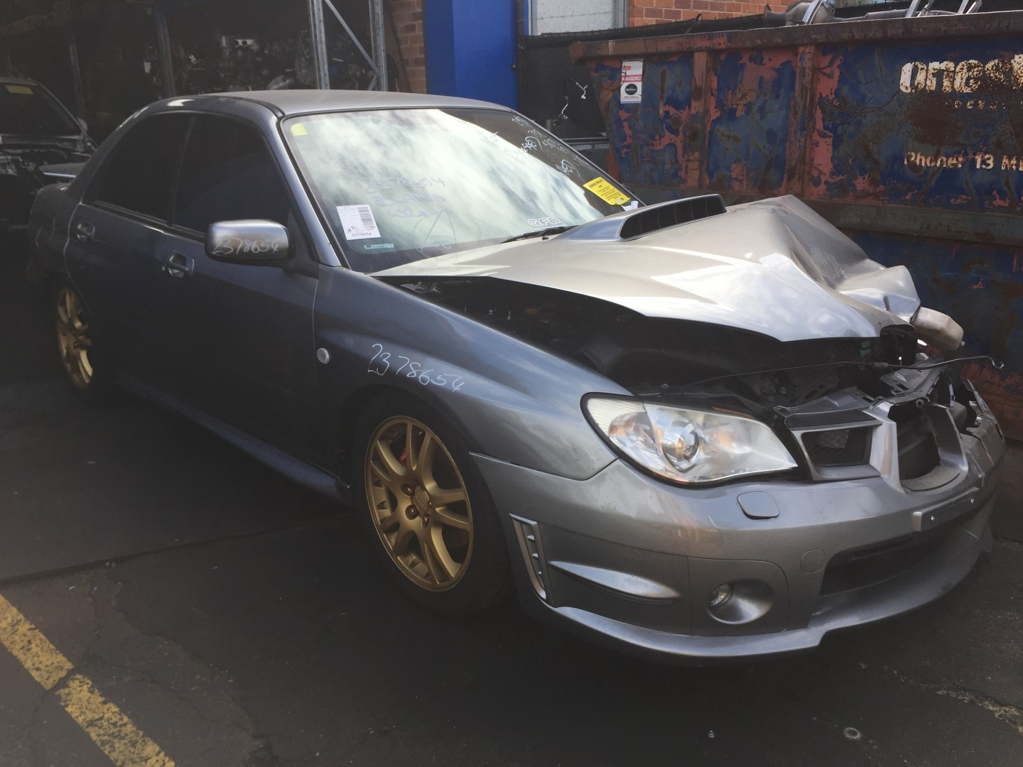 Subaru Wrecking WRX 2006-7 Sedan EJ25 Motor Spare Parts