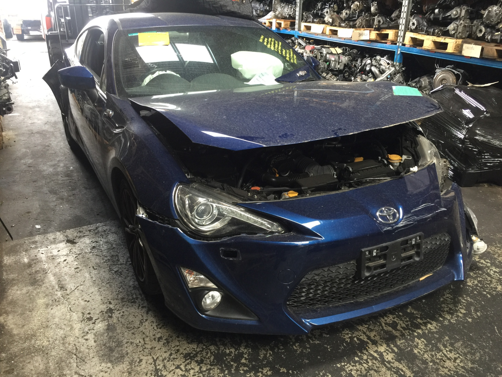 Toyota Wrecking 86 Coupe FA20 6 Speed MT Spare Parts GTS