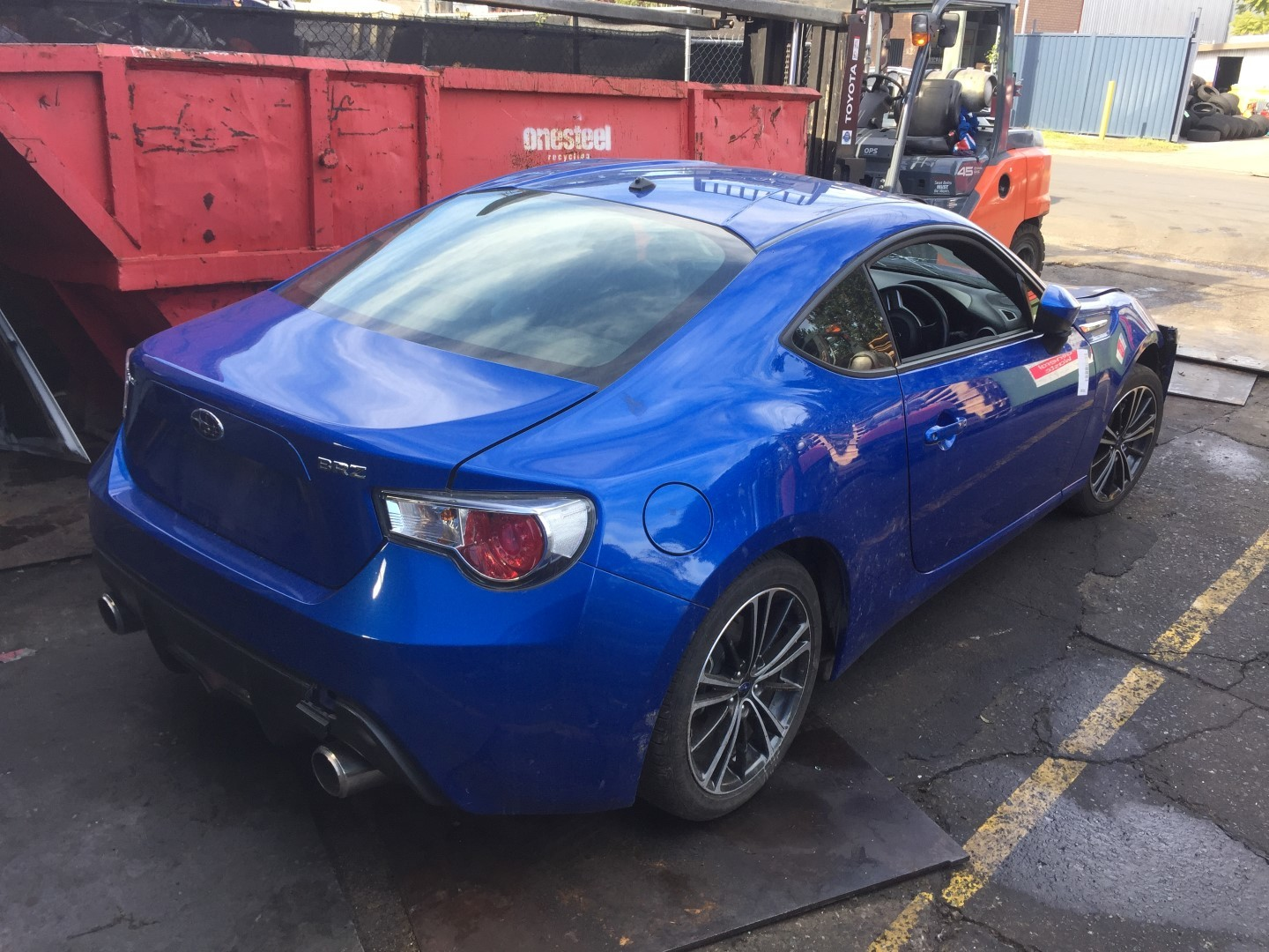 Subaru Wrecking BRZ 2013 FA20 Spare Parts Onboost