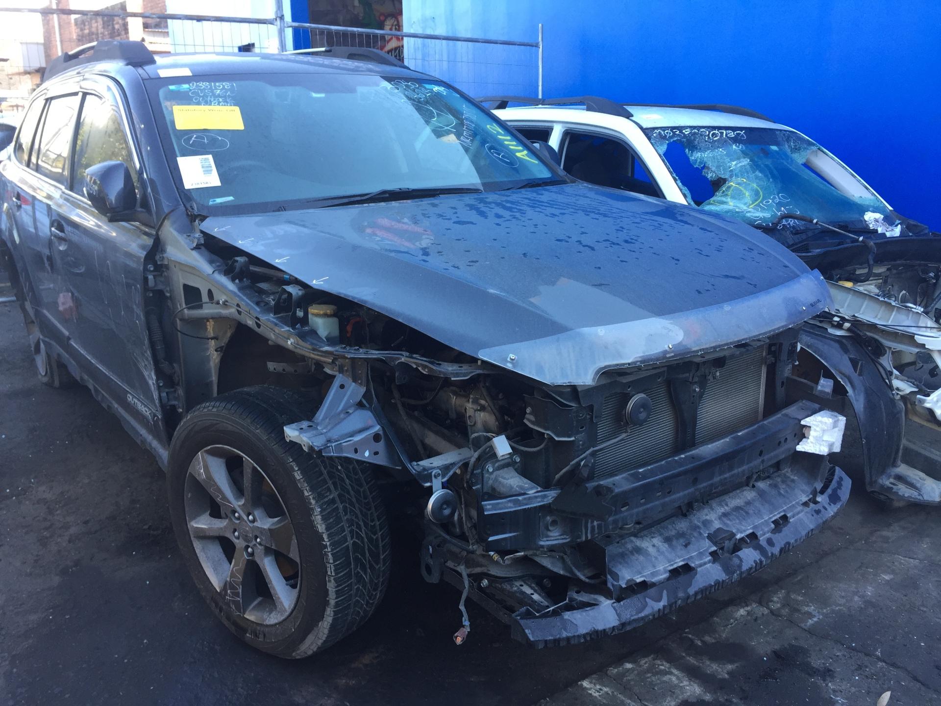 Subaru Wrecking Outback 2013 Gen 5 Petrol FB25 Spare Parts