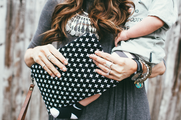 Black Plus Clutch