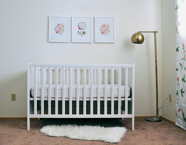 Showing how I designed Nellie's nursery and all the links provided for everything in her room.