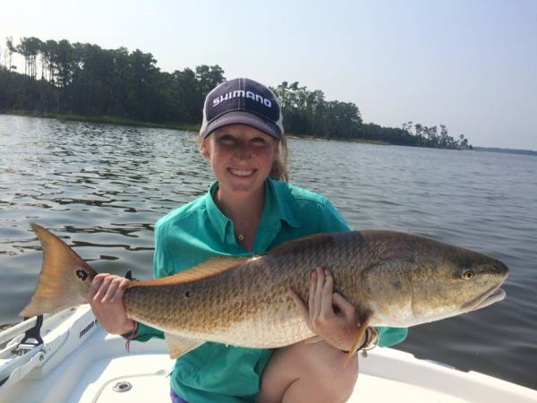 Giant red drum and redhead. Popping cork old drum fishing