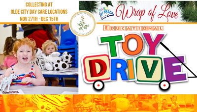 Wrap Of Love Toy Drive