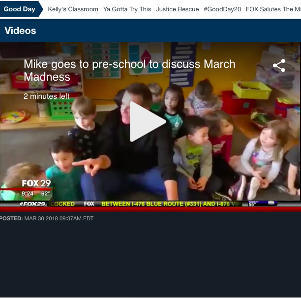 Olde City Day School Good Day Philadelphia March Madness Feature