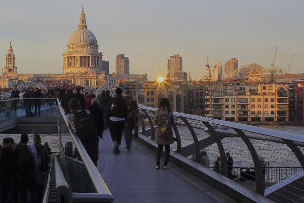 Millenium Bridge 2015