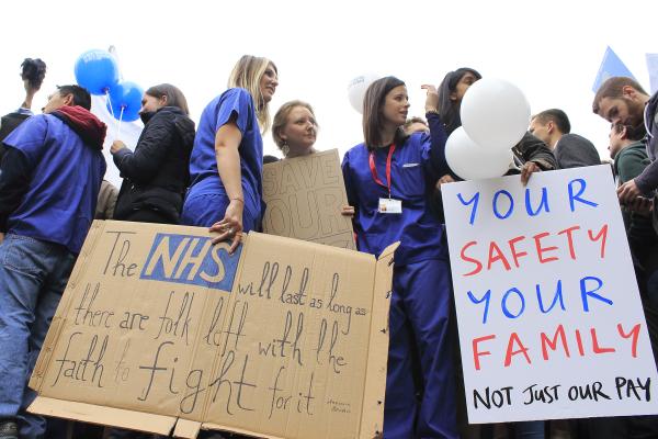Junior Doctors' Protest, London, October 2015