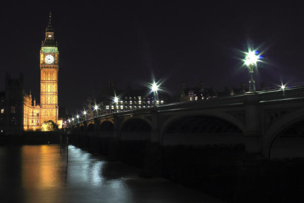 Big Ben at night, 2015