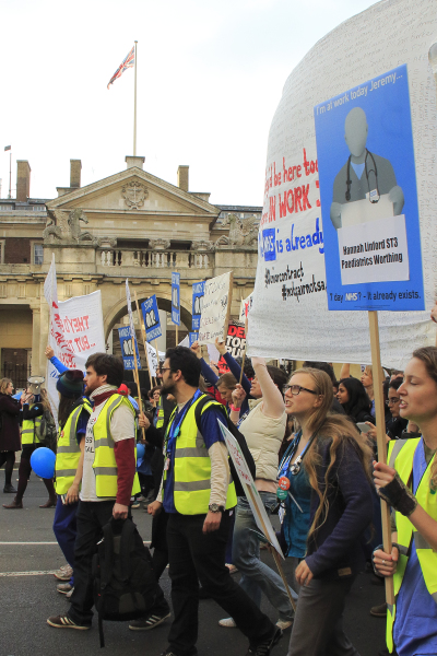 Junior Doctors' Protest, London, October 2015