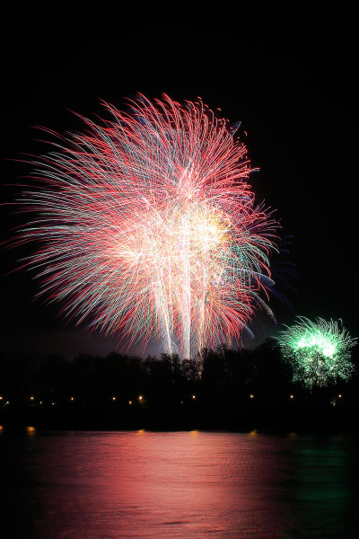Annual Fireworks Display at Battersea Park, November 2015