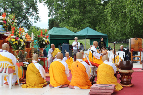 30th Anniversary Celebration of the London Peace Pagoda in Battersea Park