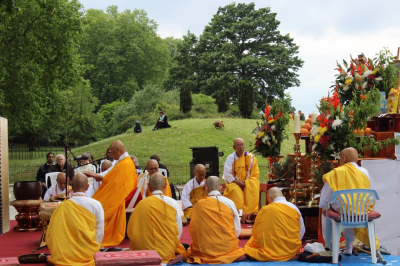 30th Anniversary celebration of the London Peace Pagoda.