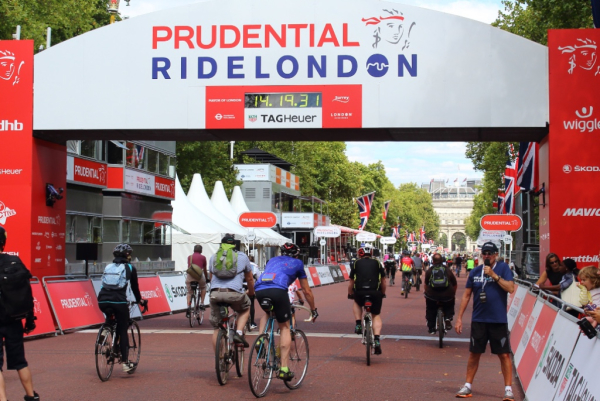 Ride London, Freecycle Event, 2015
