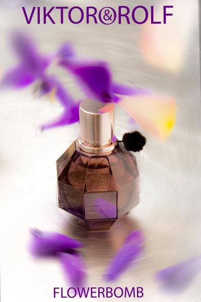 Viktor & Rolf perfume photography
