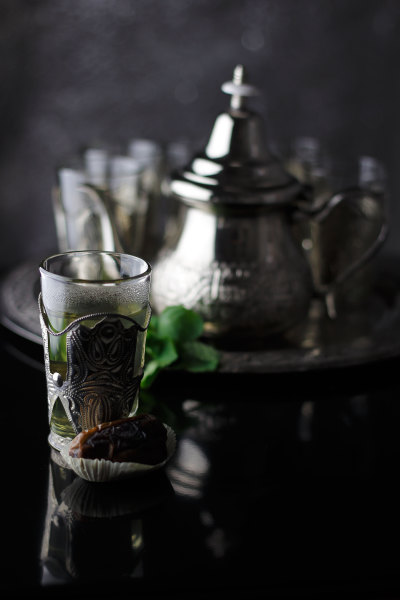 Moroccan Mint Tea - food photography