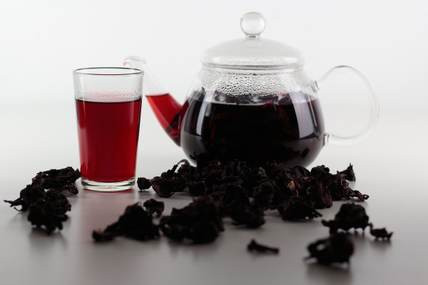 Egyptian Hibiscus Tea - food photography