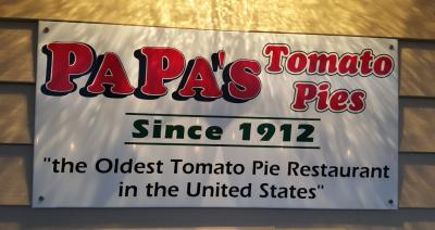 Papa's Tomato Pies, Robbinsville, NJ