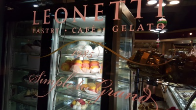 Leonetti's Pastry Shop, Glen Cove, Long Island, NY * The 3 Gavones 1st Annual Pastry and Food Crawl