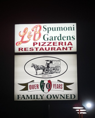 L&B Spumoni Gardens, Brooklyn, NY *The 3 Gavones 1st Annual Pastry and Food Crawl