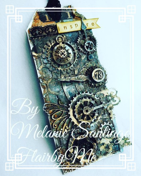 Super Easy Steampunk Tag