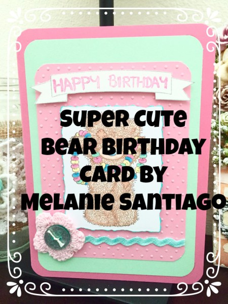 Super Cute Bear Card