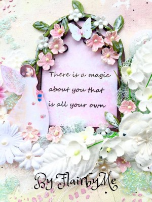 Fairy Mixed Media Canvas