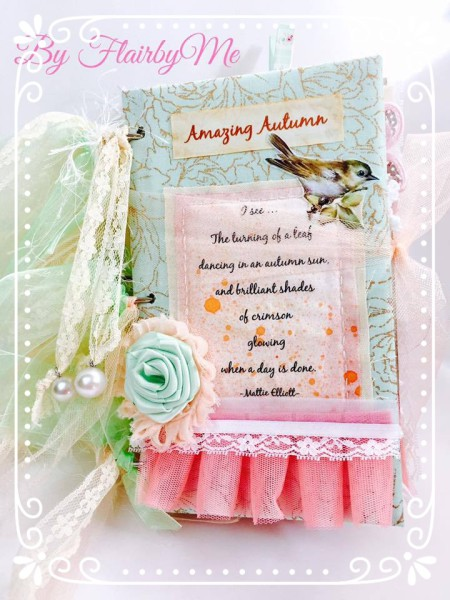 Amazing Autumn Mixed Media Journal