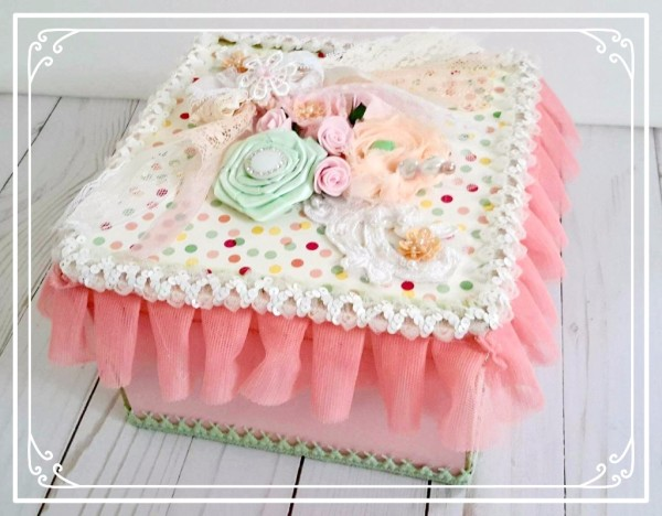 Gorgeous Altered Box