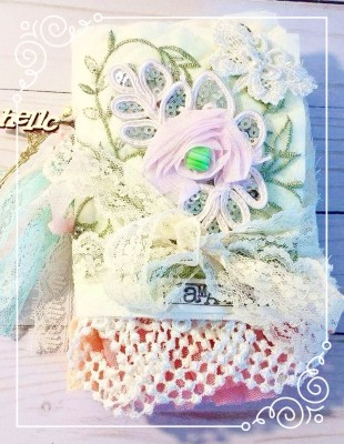 Lovely Mini Fabric Book