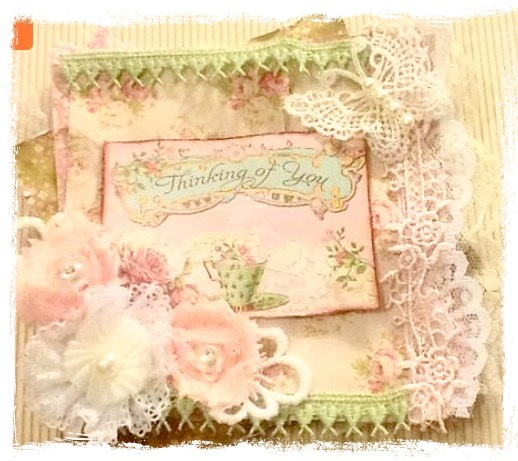 Shabby Chic Card Tutorial
