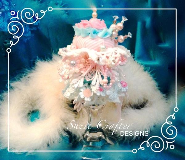 Shabby Chic Cushion Cake