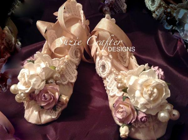 Beautiful Shabby Ballet Shoes