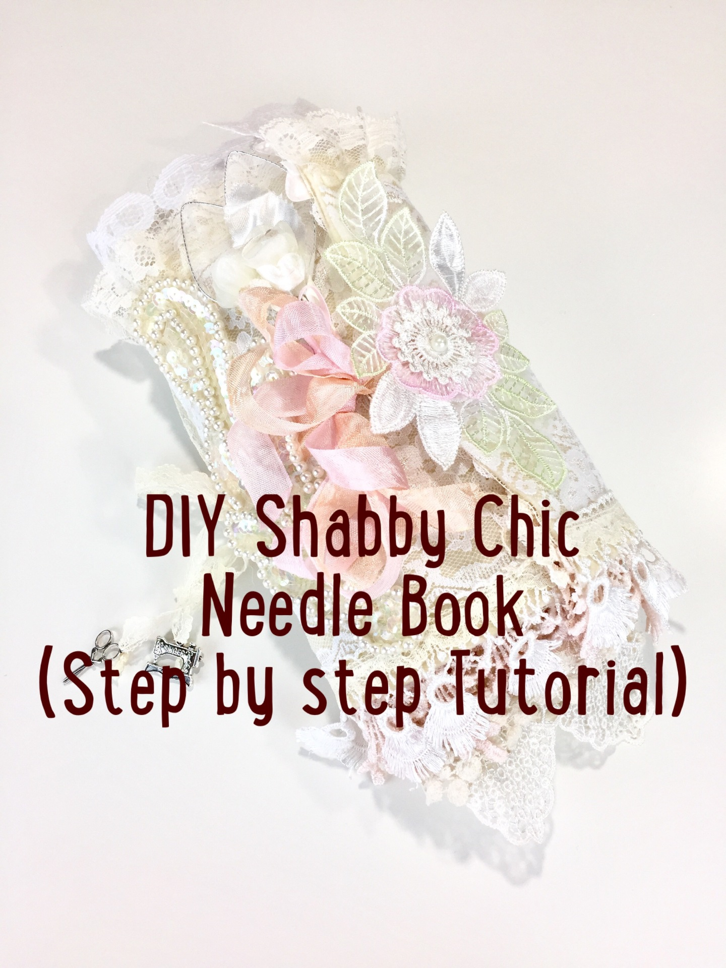 DIY Shabby Chic Needle Book