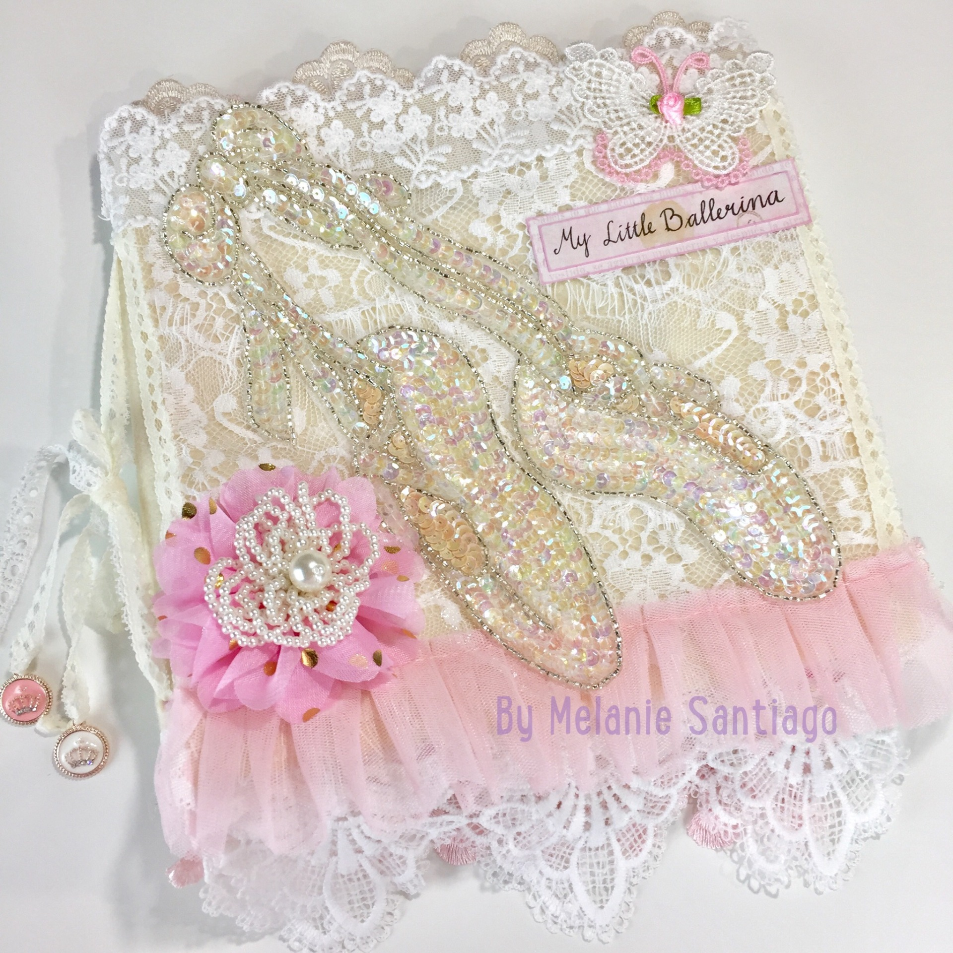 Easy Tutorial Ballerina Fabric Album