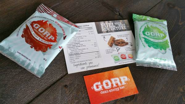 Product Review: Gorp Bars