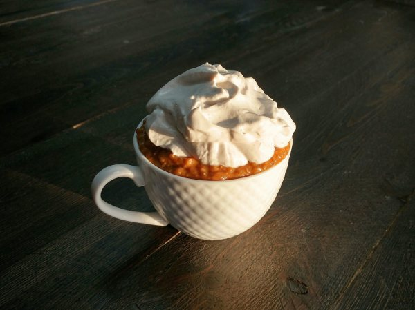 Pumpkin Pie Chia Pudding with Coconut Whipped Cream