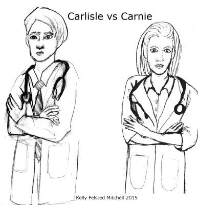 Dr. Carlisle Cullen vs Dr. Carnie Cullen