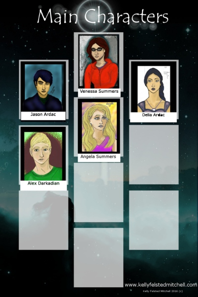 An unlockable poster of main characters