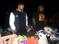 feeding homeless, kiwi daddy, family