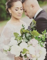 wollongong wedding, illawarra, bride and groom, romatic, garden wedding, messy bouquet, wedding stylist, event stylist