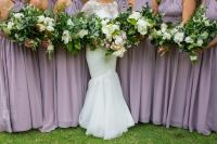 mauve wedding, purple wedding, purple bridesmaids, pretty wedding bouquet, messy florals, wedding styling, stylist, sydney