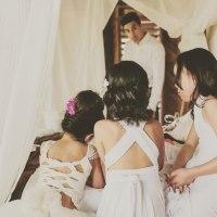 flower girls, wedding, romantic, tutu