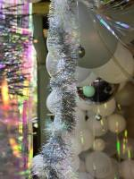 balloons; xmasballoons; whiteballoons; ballooninstallation; xmasparty