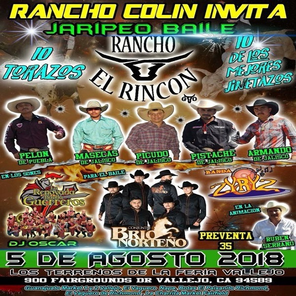 Rancho Colin Jaripeo  8.5.2018
