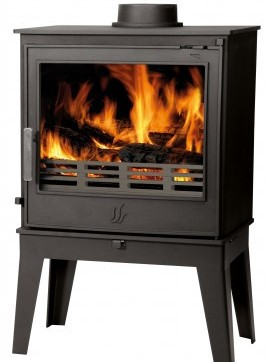 ACR Buxton with Long Legs 7Kw Multi Fuel