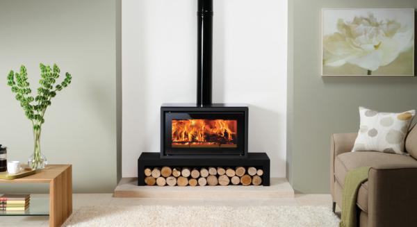 Stovax Riva Studio 1 Freestanding 5Kw Wood Burner
